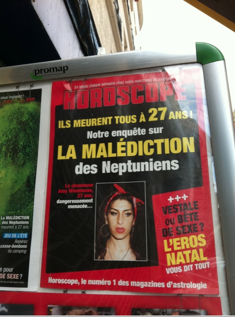 amywinehouse morte 27ans horoscope