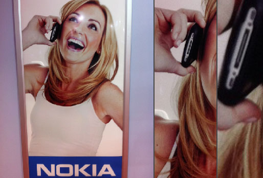 publicite nokia fail iphone