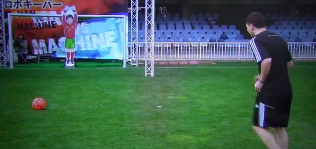 messi penalty robot machine